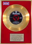 BILL HALEY and his COMETS -  24 Carat Gold Disc 7inch - ROCK AROUND THE CLOCK